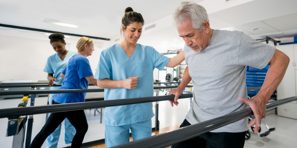 Physiotherapist-Helping-Patient